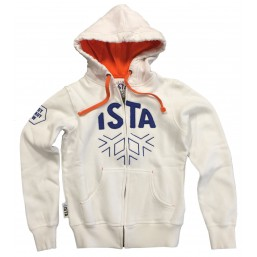 Hoodies ISTA blanc femme