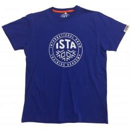 T-shirts ISTA bleu unisexe