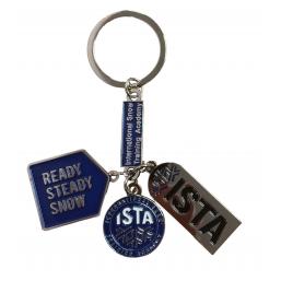 Porte-clefs métal ISTA triptic