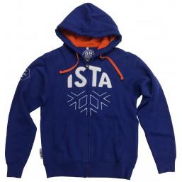 Hoodies ISTA bleu homme