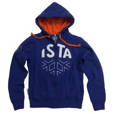 Hoodies ISTA bleu femme